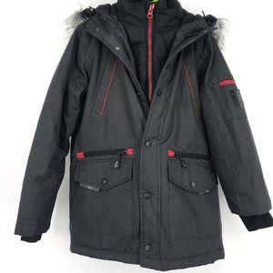 Mountain ridge kids snow winter jacket boy 7/8 sm